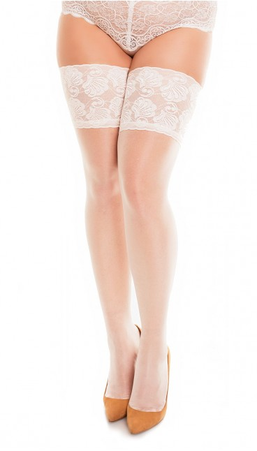 50111 - Deluxe 20 - Champagne - Thigh highs