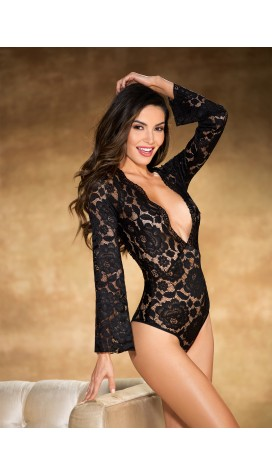 Stretch Lace BODYSUIT TEDDY